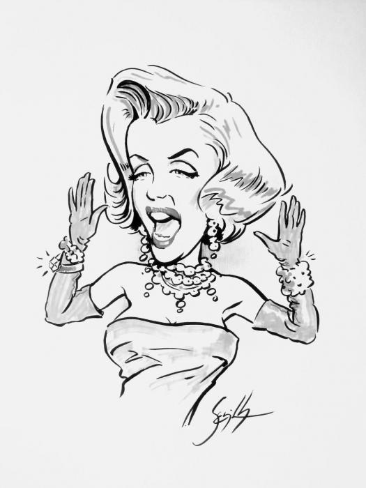 Marilyn Monroe by Tonio